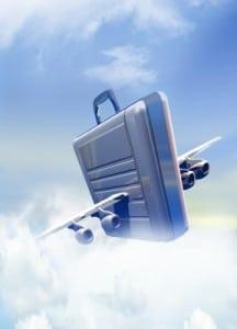 Breifcase In Flight