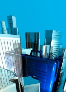 Business Case And Cityscape