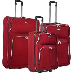 U.S. Traveler Segovia 3 Piece Luggage Set