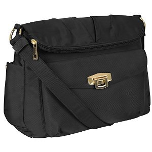 Travelon Pleated Flapover Bag
