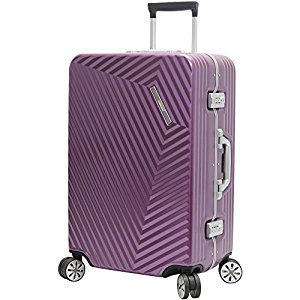 Hardside Luggage Without Zipper Locking