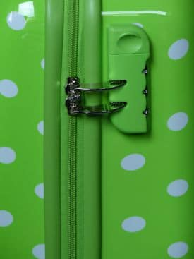 Fixed Lock Zipper Suitcase