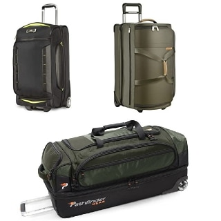 Best Drop Bottom Rolling Duffel Bag Wheeled Duffel With Bottom Compartment