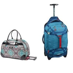 Rolling Carry On Duffel Bags