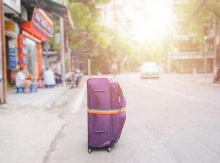 Multicolored Suitcase Strap