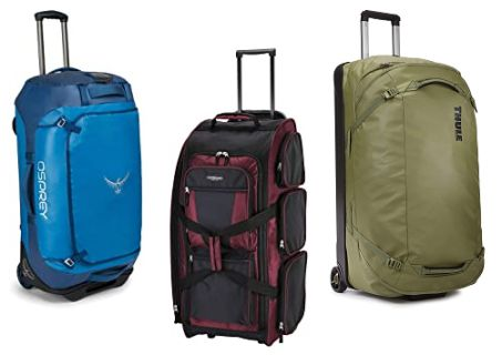 Best Rolling Duffel Bag for Checked Luggage